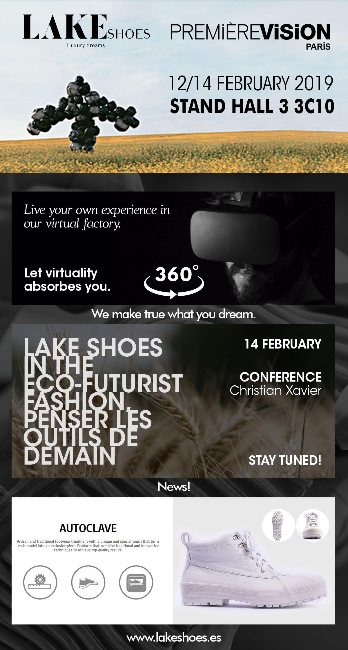 Lake Invitación Feria - Premiere Vision 19